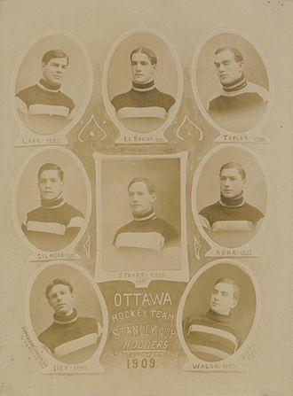 1909 ECHA season - Winning team, 1909
