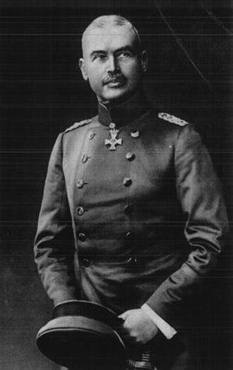Otto Liman von Sanders - Generalleutnant Otto Liman von Sanders