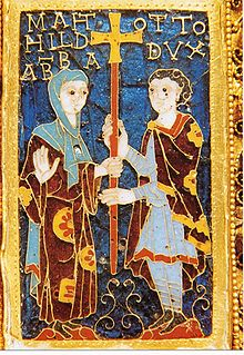 abbess of Essen Abbey from 973 to her death