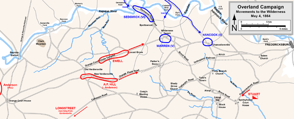 Overland Campaign May4