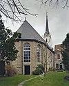 overzicht oostgevel met zicht op de kerktoren - brielle - 20332555 - rce