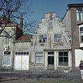 Overzicht van de voorgevel met trapgevel - Haarlem - 20380594 - RCE.jpg