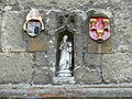 Oxford - Worcester College - statue above a door.jpg