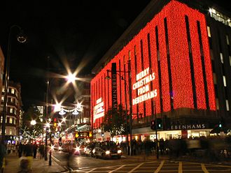 Debenhams - Debenhams' flagship store in Oxford Street