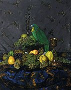 P. Molnár Still-life with Parrot.jpg