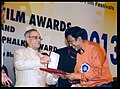 P. Sheshadri receiving the National Film Award for Best Screenplay.jpg