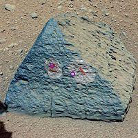 PIA16192-MarsCuriosityRover-Target-JakeRock-20120927
