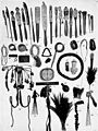 PSM V52 D033 Utensils and ornaments from southeastern new guinea.jpg