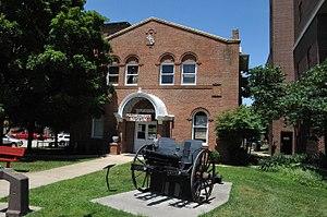 National Register of Historic Places listings in Pulaski County, Missouri - Image: PULASKI COUNTY COURTHOUSE, PULASKI COUNTY, MO