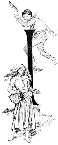Page 186 initial in fairy tales of Andersen (Stratton).png