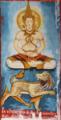 Painting of Metteyya Bodhisatta, Wat Ho Xieng, Luang Prabang.png