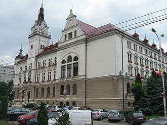 Carpathian Euroregion - Image: Palatul Administrativ din Suceava 2