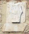 Palazzo vicariale di certaldo, facciata, stemma tornabuoni 2.jpg