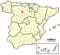 Palencia Spain location