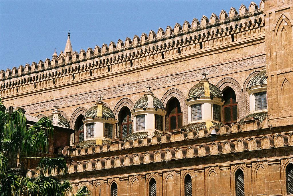 Coupoles baroques de la Cathédrale de Palerme - Photo de Bjs