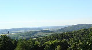 Brno Highlands mountain range