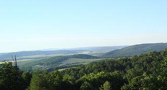 Brno Highlands - Kalvarie - mid part of Brno Highlands