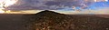 Panorama of the You Yangs, Sunset at Flinders Peak - panoramio.jpg