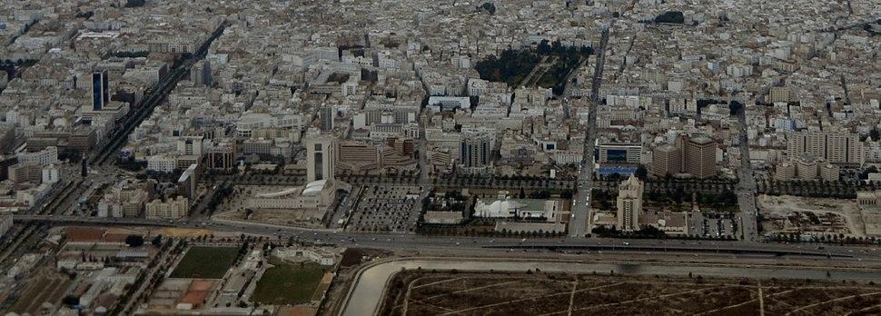 Panoramique Avenue Mohamed V, centre de Tunis