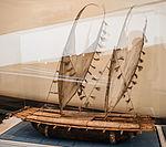 Papua New Guinea, three hull catamaran, model in the Vatican Museums.jpg