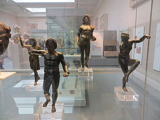 Greco-Roman hoard of bronze figurines