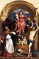 Paris Bordone - Enthroned Madonna with Child and Saints - Google Art Project.jpg