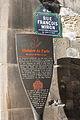 Paris Rue François Miron plaque 22.JPG