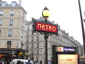 Paris Saint Placide Metro 280109.jpg