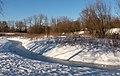 Park Lingezegen, Kronkels in de sneeuw bij het viaduct over de snelweg IMG 8098 2021-02-13 16.25.jpg