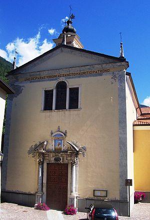 Incudine - Parish church