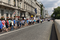 Participants in a London pro-EU, anti-Brexit march pass through Piccadilly on 23 July 2016.png