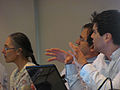 Participants in the Wikipedia and Legislative Data workshop 05.jpg