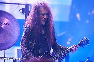 Pata (musician) - Pata at Madison Square Garden, New York, 2014.