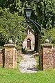 Path through churchyard to Crowe Hill Methodist Church - geograph.org.uk - 905467.jpg