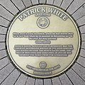 Patrick White plaque in Sydney Writers Walk.jpg