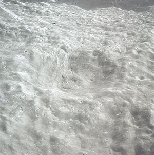 Patsaev (crater) - Image: Patsaev Q crater AS17 151 23213