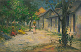 Paul Gauguin - Village in Martinique (Femmes et Chevre dans le village) - Google Art Project.jpg