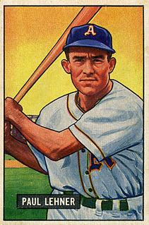 Paul Lehner American baseball player