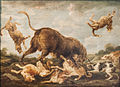 Paul de Vos - Buffalo Attacked by Dogs.jpg