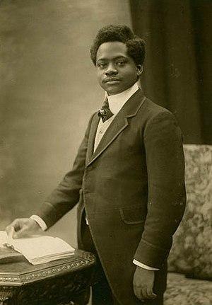 Paul Panda Farnana - Paul Panda Farnana in 1921