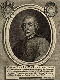 Paulo António de Carvalho e Mendonça cardinal