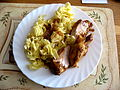 Pečené kuřecí maso, těstoviny.jpg