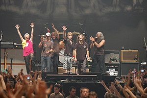 Pearl Jam discography - Pearl Jam in concert in 2006