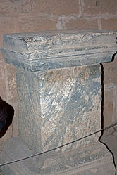 Pedestal in acropolis of Lindos 2010 5.jpg