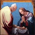 Pedro fernàndez, adorazione del bambino tra i ss. giacomo e filippo, e cristo in pietà , 04.jpg