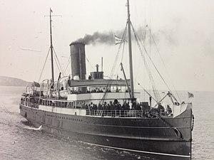 SS Peel Castle - Image: Peel Castle approaches Douglas