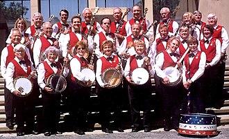 Peninsula Banjo Band - July 2003