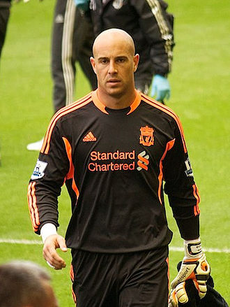 Pepe Reina - Reina with Liverpool in 2011