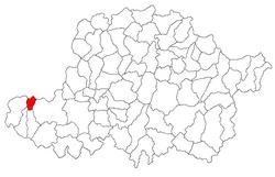 Vị trí của Peregu Mare