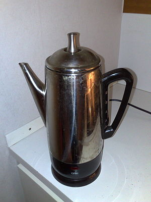 Coffee percolator - Percolator